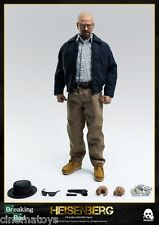 Breaking Bad Heisenberg Walter White 16 Scale Action Figure Threezero Sideshow