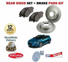 FOR HONDA CRZ 1.5i COUPE HYBRID 2010--  NEW REAR BRAKE PADS + DISC