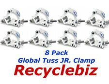 Global Truss Jr Clamp (8 PACK) for Mini Triangular Truss NEW! Arch System, Etc.