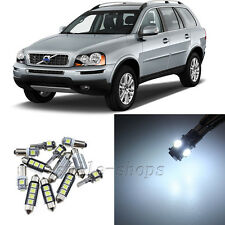 Error Free White 18pcs Interior LED Light Kit for 2003-2011 Volvo XC90