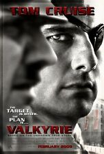 Valkyrie movie poster (a) Tom Cruise poster  - 11 x 17 inches - World War II