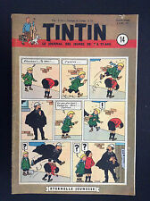 Fascicule périodique Journal Tintin N° 14 1951 BE