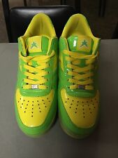 YUMS Lemon Lime shoes VERY RARE KICKS Men's Size 11 Nice, Preowned Condition