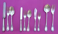 CHRISTOFLE MARLY FRENCH S/PLATE FLATWARE FOR 12 PERSONS 96 +2SERVING
