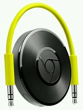 GOOGLE Chromecast Audio Built-in WiFi Green Android 4.1 iOs 7.0 3.5 mm Jack New