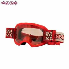 RNR Rip n Roll mx Colossus Brille Inklusive XL Roll-Off System Farbe Rot