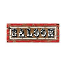Wild West Saloon Party Sign - 56 cm - Western and Cowboy Wall Decoration