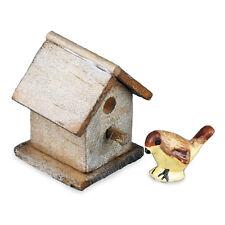 Reutter Porzellan Vogelhaus Garden Birdhouse Set Puppenstube 1:12 Art 1.744/8