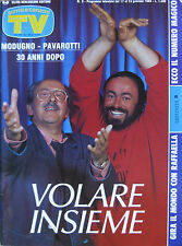 SORRISI 3 1988 Modugno Pavarotti Tom Jones Richard Chamberlain Daniel Massey