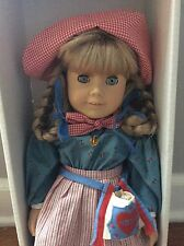AMERICAN GIRL DOLL Pleasant Company Meet Kirsten Larson perfect RETIRED Box LN