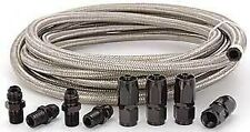 Automatic Transmission Cooler Line Kit -6AN Steel Braided Hose Kit  4L80E