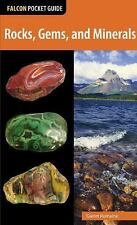 Falcon Pocket Guides: Rocks, Gems, and Minerals by Garret Romaine (2015,...