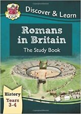 KS2 Discover & Learn: History - Romans in Britain Study Book, Year 3 & 4 New Pap