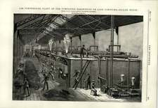 1889 Air Compressing Plant Boilerhouse Paris Air Comprime Locomotive Practice