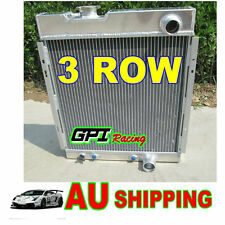 3 CORE FORD MUSTANG V8 289 302 WINDSOR ALUMINUM RADIATOR 64 65 66