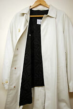 BNWT Corneliani Mens Hidden Button Up Trench Coat Size 50 Chest Made in Italy