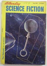 ASTOUNDING SCIENCE FICTION JULY 1952 CHAD OLIVER MICHAEL SHAARA WILLY LEY