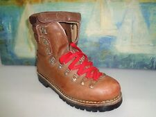Vendramini Men's work boots Cognac Leather Work Boot Sz 8