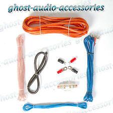 4g guage car audio amplificateur amp câblage kit d'installation 1600 watts