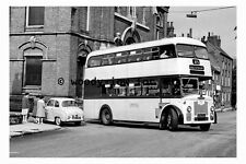 pt9109 - Sheffield Bus - 6162 WJ in 1961 - photograph
