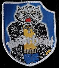 motorhead shield WOVEN  PATCH