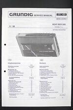 Grundig Beat Boy 900 studio line walkman Service-Manual/esquema eléctrico/diagram o95
