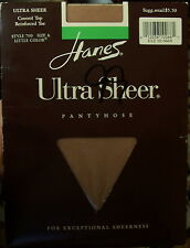 Hanes Absolutely Ultra Sheer Pantyhose - Style 709 Size A - Brown New in Package