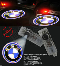2x Car LED Door Logo Projector Ghost Shadow Light For BMW  E60 E90 F10 E63  E64