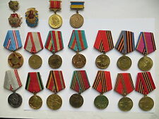 18 set lot Soviet Russian Army medal order award Badge WWII Lenin 9 May Labour