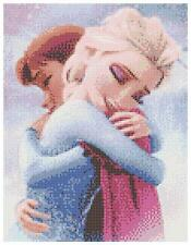 Elsa & anna 2 - 14 count cross stitch kit