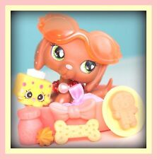 ❤️Littlest Pet Shop LPS Valentine Dachshund #556 ~ MARINA Accessories DOG LOT❤️