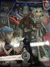 MONSTER HIGH DOLLS GARROTT du ROQUE & ROCHELLE GOYLE LOVE N SCARIS 2 PACK