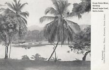 CONGO TOWN (Sierra Leone): River showing Sugar .- undivided back-LISK-CAREW BROS
