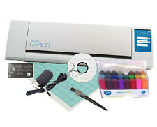 The New Silhouette CAMEO Digital Cutting Machine + 24 Pen Set & Hook