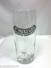 St. Pauli Girl German beer glass bar glasses1 import imported Germany cup KB7