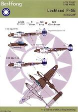 Bestfong Decals 1/48 LOCKHEED F-5E LIGHTNING Chinese Air Force