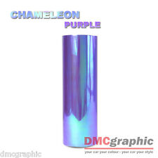 Chameleon Purple Car Motorbike Headlight Tail Light Adhesive Vinyl Tint Wrap