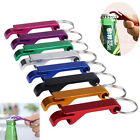 3PCS Bottle Opener Key Ring Chain Keyring Keychain Metal Beer Bar Tool Claw Gift