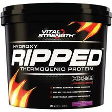 Vital Strength Hydroxy Ripped Workout Protein Powder 3Kg Chocolate