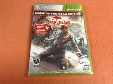 Dead Island Game of Year Edition XBOX 360 FREE SHIP Complete SEALED!