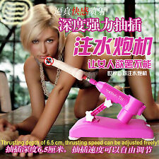 Female gift! Sex Machine Water Injection 1 Attachment Gunlock 2016 New SUPER SET