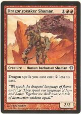 DRAGONSPEAKER SHAMAN X1  MAGIC Mtg - ARCHENEMY - EXCELLENT (EX)