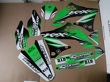 FLU DESIGNS PTS3 GRAPHICS  KAWASAKI KX450F  2009  2010  2011