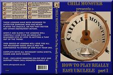 How To Play Really Easy Ukulele by Chili Monster DVD