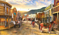 Wild West Town 550 Piece Jigsaw Puzzle by SunsOut