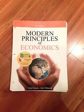 Modern Principles of Economics by Tyler Cowen and Alex Tabarrock (2013,...