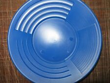 "10"" Blue GOLD PAN  MARTIN Prospecting Mining Equipment Made In  SC 5 star GPAA"