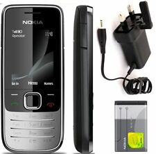 New condition Nokia 2730 Silver - (Unlocked) 3G Mobile Phone BAR CHEAP Sim Free