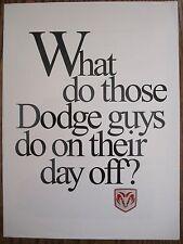 1996 Dodge  Viper   Sales Info Brochure