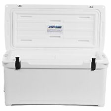 Engel Deep Blue 80Qt 80 Quart White DeepBlue Ice Chest Cooler - ENG80W